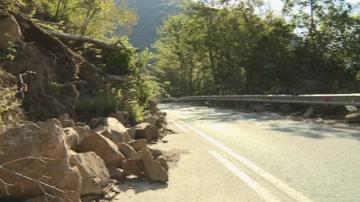 Започна укрепването на пътя за Рилския манастир