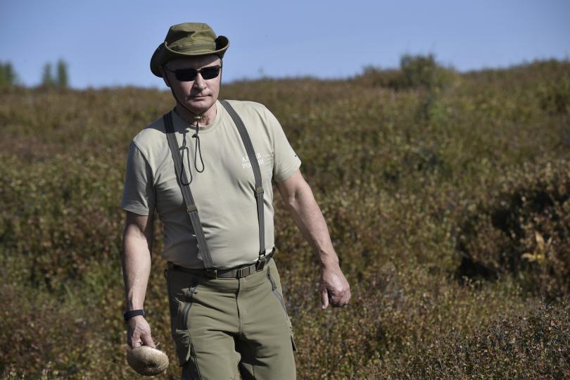 В разгара на лятото от Кремъл разпространиха кадри от почивката