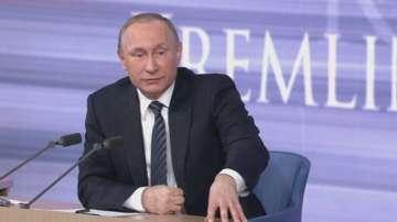 Годишната пресконференция на руския президент Владимир Путин