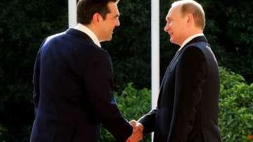 Путин на посещение в Гърция