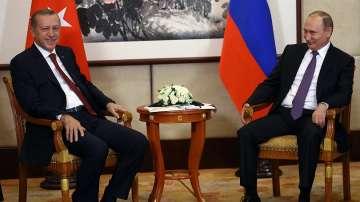 Ердоган и Путин разговаряха в Китай