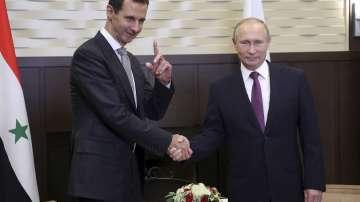 Владимир Путин и Башар Асад обсъдиха обстановката и бъдещето на Сирия