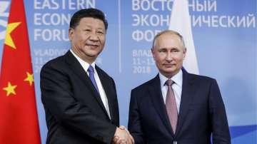Путин и Си Дзинпин се срещнаха в Русия (СНИМКИ)
