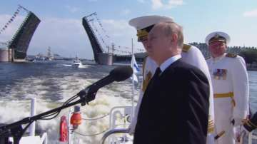 Ден на военноморските сили в Русия