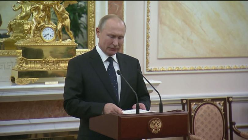 Владимир Путин обеща работата по най-новата руската ракета с ядрен