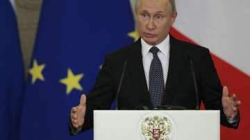 Владимир Путин пристигна на посещение в Италия