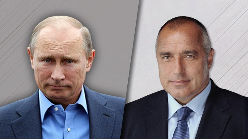 премиерът борисов провел телефонен разговор владимир путин