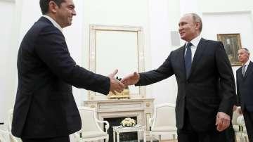 Путин и Ципрас обсъдиха сътрудничество в енергетиката