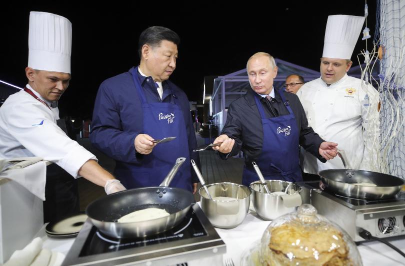 снимка 1 Путин и Си Дзинпин се срещнаха в Русия (СНИМКИ)