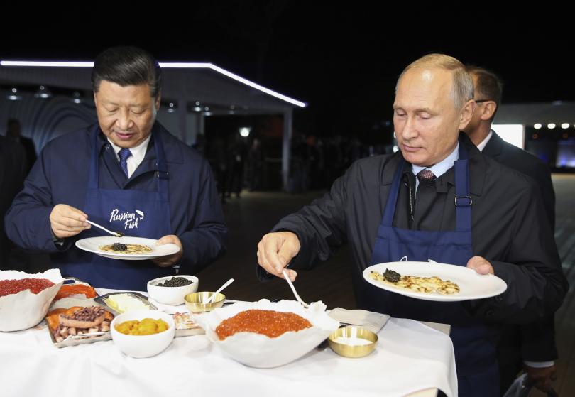 снимка 3 Путин и Си Дзинпин се срещнаха в Русия (СНИМКИ)