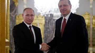 Путин и Ердоган обсъдиха по телефона кризите в Сирия и в Близкия изток
