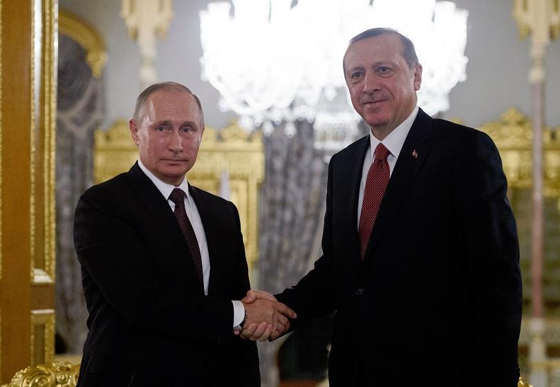 путин ердоган обсъдиха телефона кризите сирия близкия изток