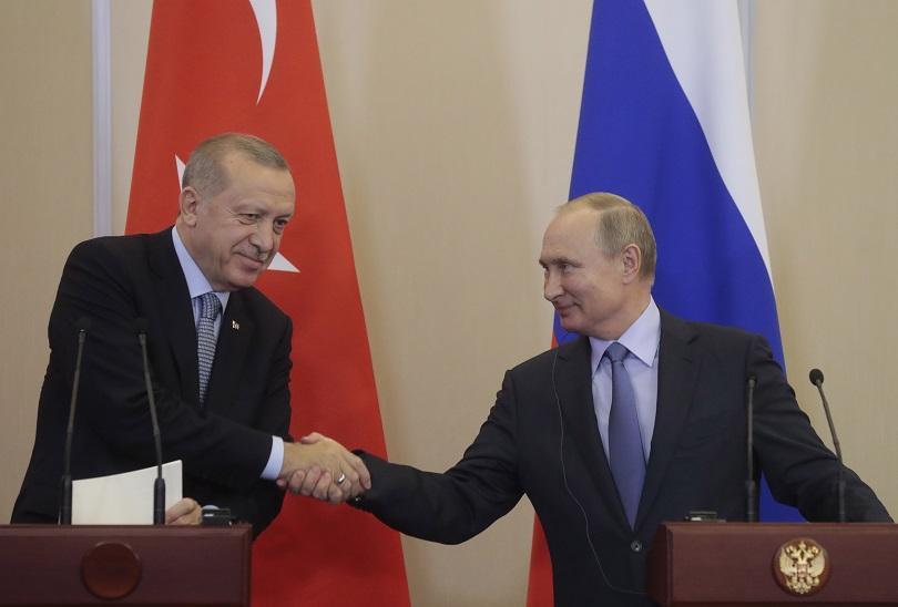 Повече от 6 часа разговаряха Владимир Путин и Реджеп Ердоган