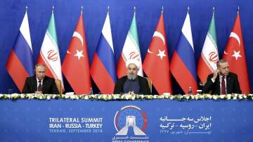 Среща на върха Русия-Иран-Турция за Сирия