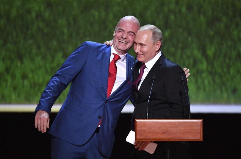 владимир путин световното футбол помогна разрушаване митовете русия
