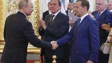 Путин внесе в Руската дума кандидатурата на Дмитрий Медведев за премиер