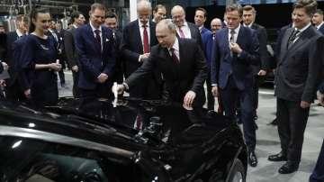 Откриха първия завод на Мерцедес в Русия
