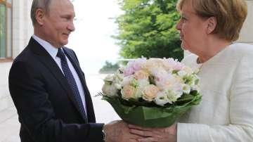 Меркел и Путин единни по иранското ядрено споразумение