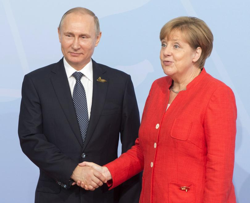 путин меркел потвърдиха позициите проекта северен поток
