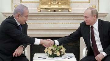 Израелският премиер Нетаняху и руският президент Путин се срещнаха в Москва