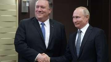 Акцентите от срещата Путин - Помпео в Сочи