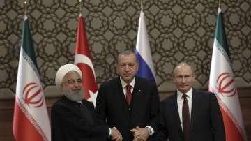 Президентите на Турция, Русия и Иран проведоха тристранна среща в Анкара