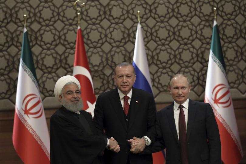 русия турция иран тристранна среща върха сирия септември