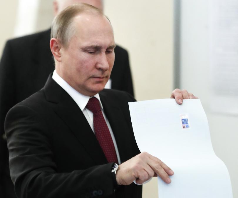 Русия избира президент, 110 милиона руснаци имат право на глас.