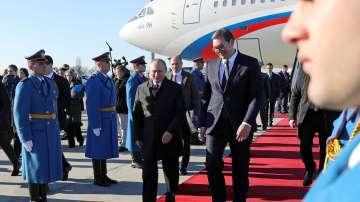 Владимир Путин пристигна на посещение в Сърбия