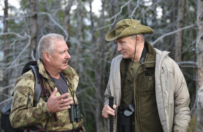 снимка 11 Сибирската ваканция на Владимир Путин (СНИМКИ)