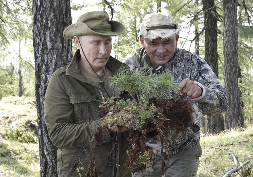 снимка 10 Сибирската ваканция на Владимир Путин (СНИМКИ)