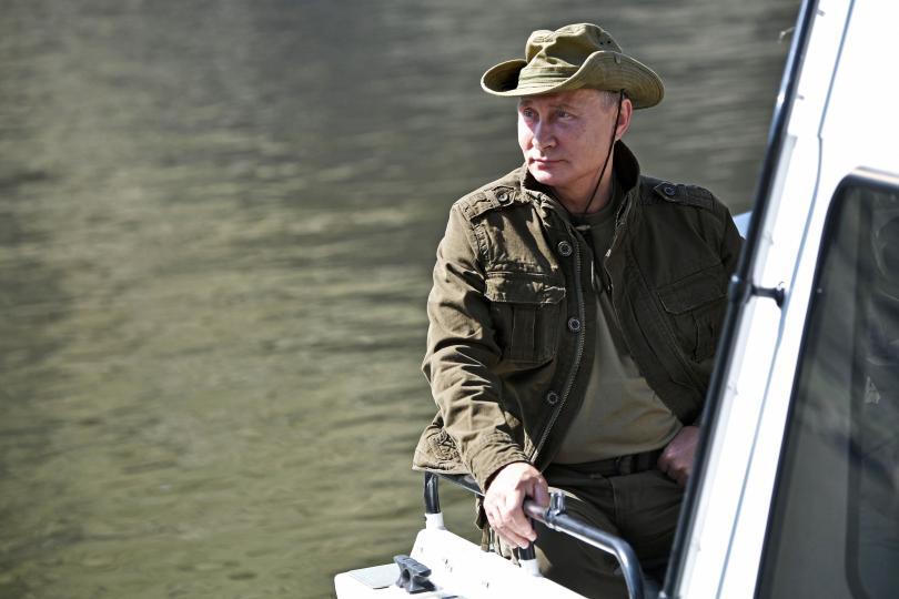 снимка 5 Сибирската ваканция на Владимир Путин (СНИМКИ)