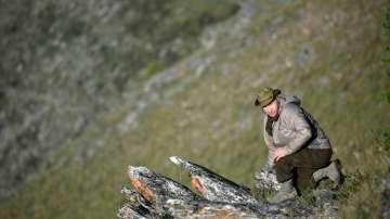 Сибирската ваканция на Владимир Путин (СНИМКИ)