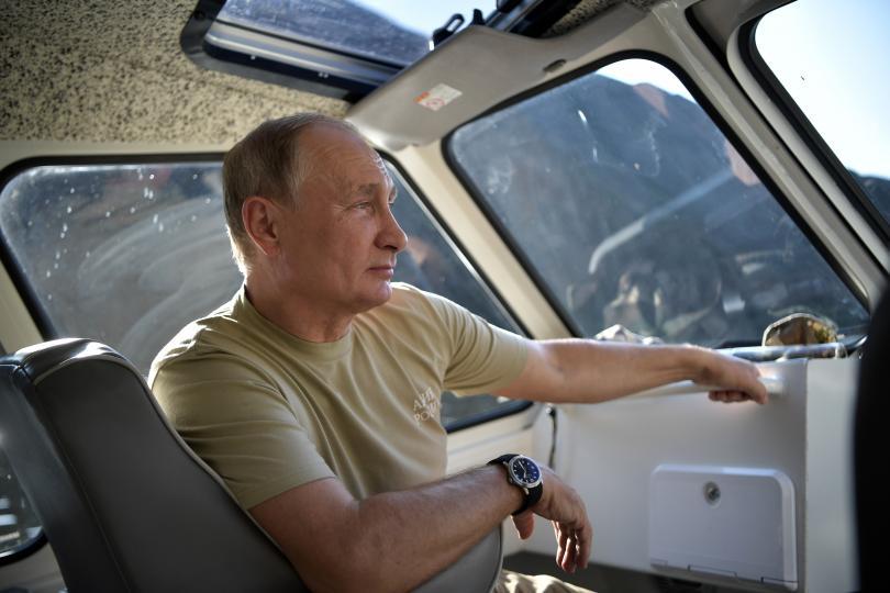 снимка 8 Сибирската ваканция на Владимир Путин (СНИМКИ)