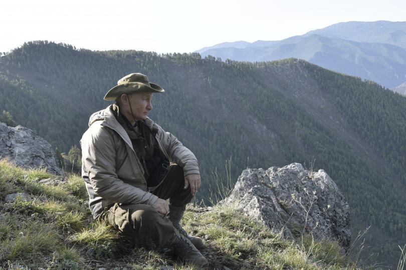 снимка 2 Сибирската ваканция на Владимир Путин (СНИМКИ)