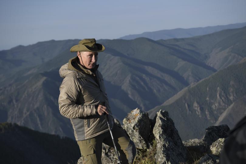 снимка 6 Сибирската ваканция на Владимир Путин (СНИМКИ)