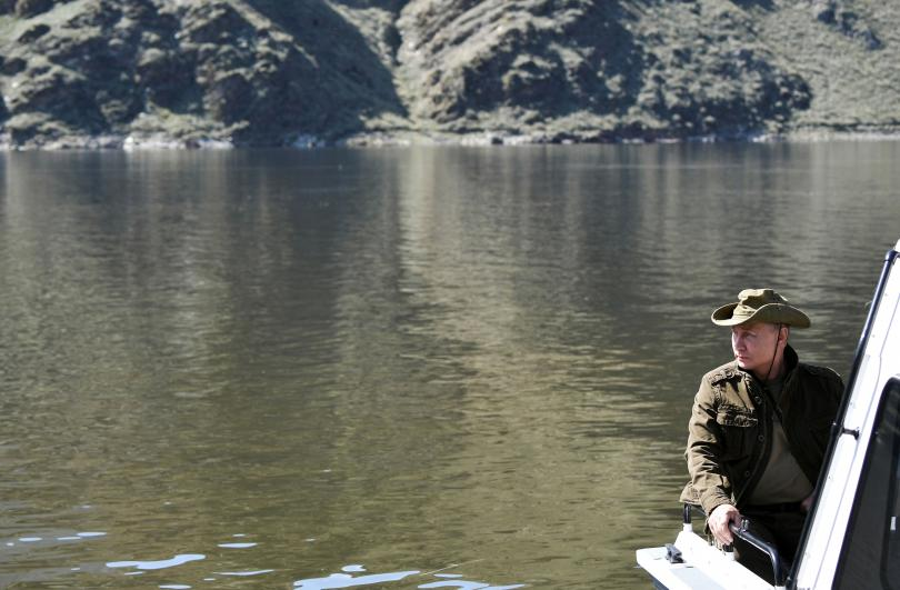 снимка 9 Сибирската ваканция на Владимир Путин (СНИМКИ)