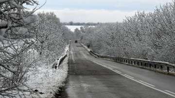 Тежка зимна обстановка в цялата страна
