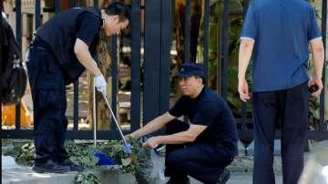 Експлозия пред посолството на САЩ в Пекин, няма пострадали
