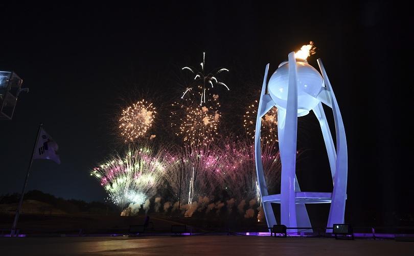 снимка 1 Закриха Зимните олимпийски игри в Пьонгчанг