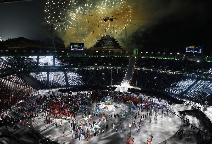 снимка 7 Закриха Зимните олимпийски игри в Пьонгчанг