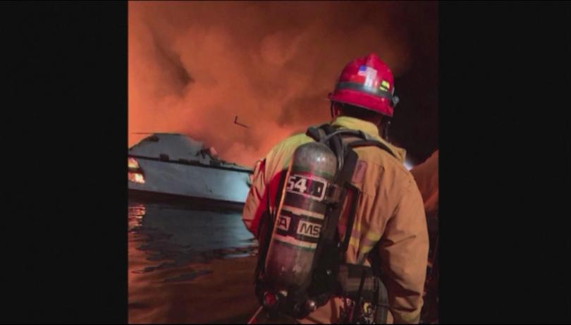 Жертвите на пожара, избухнал на туристическа яхта край бреговете на