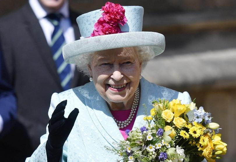 британската кралица елизабет втора празнува рожден ден снимки
