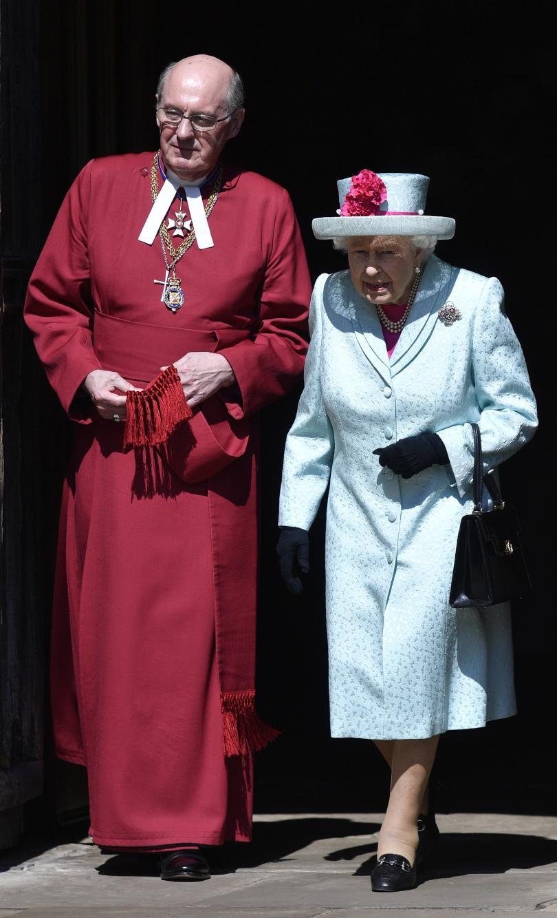 снимка 9 Британската кралица Елизабет Втора празнува 93-ия си рожден ден (СНИМКИ)