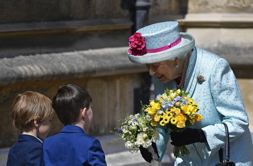 снимка 1 Британската кралица Елизабет Втора празнува 93-ия си рожден ден (СНИМКИ)