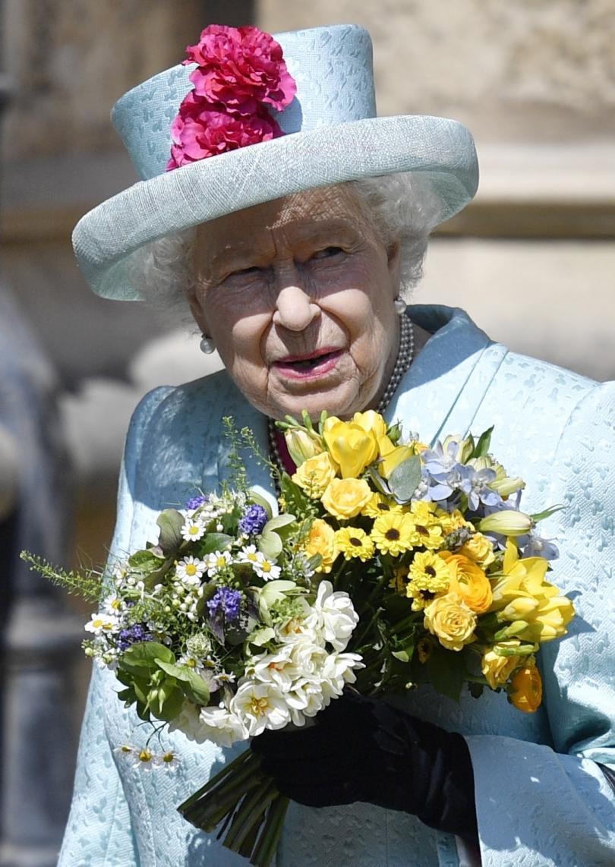 снимка 4 Британската кралица Елизабет Втора празнува 93-ия си рожден ден (СНИМКИ)