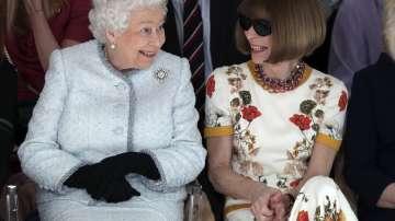 Кралица Елизабет II посети модната седмица в Лондон