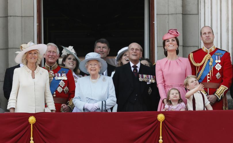 снимка 4 Кралица Елизабет и принц Филип празнуват 70 г. брак