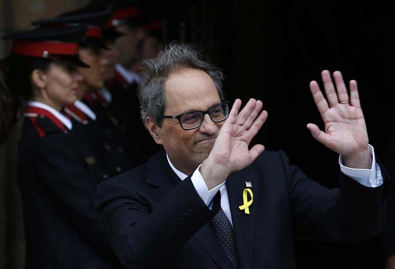 каталунският премиер заплашва оттегли подкрепата испанския колега