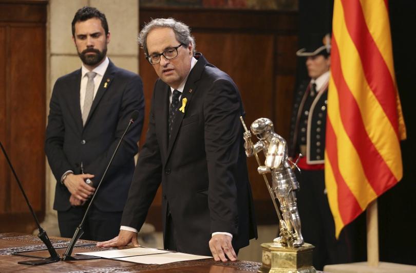 Ким Тора, премиер на Каталуния
